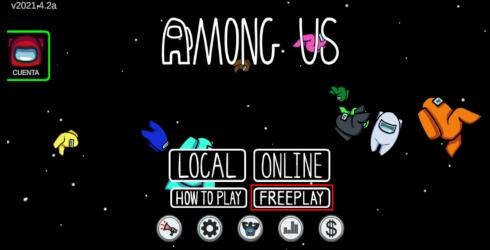 Como jugar al modo libre de Among Us
