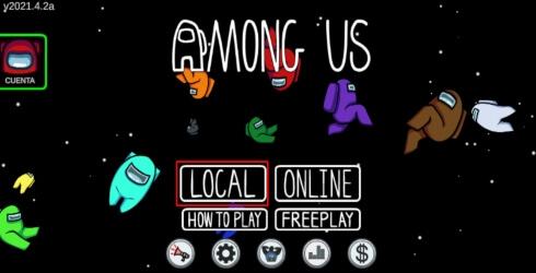 Como jugar una partida local en Among Us