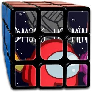Cubo Rubik personaje Among Us