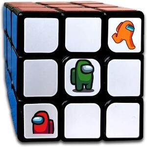 Cubo de Rubik personajes Among Us