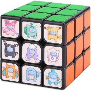 Cubo de Rubik personajes pokemon Among Us