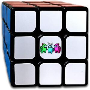Cubo de Rubik toast Among Us