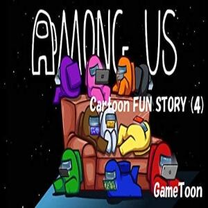 Cuento cartoon fun story 4 Among Us
