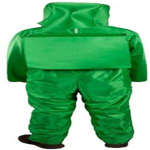 Disfraz adulto personaje verde Among Us