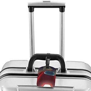 Etiquetas para equipaje de Among Us