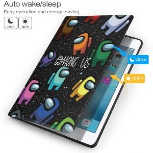 Funcion apagado y encendido de las fundas para tablet de Among Us