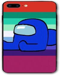 Funda movil iphone 7 y 8 personaje azul Among Us