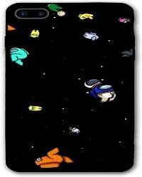 Funda movil iphone 7 y 8 personajes en el espacio Among Us
