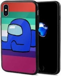 Funda movil iphone X personaje azul Among Us