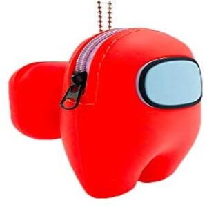 Funda para los auriculares inalambricos personaje rojo Among Us