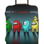 Funda para maleta there is 1 impostor Among Us