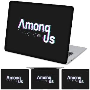 Funda para ordenador letras Among Us