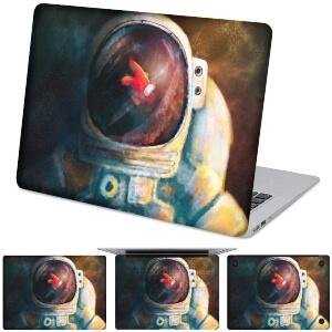 Funda para ordenador personaje en casco de astronauta Among Us