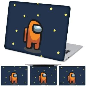 Funda para ordenador personaje naranja Among Us
