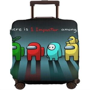 Fundas para maletas de Among Us para el verano