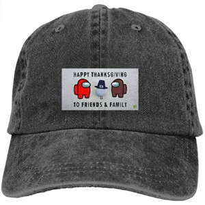 Gorra happy thanksgiving to friends and family Among Us