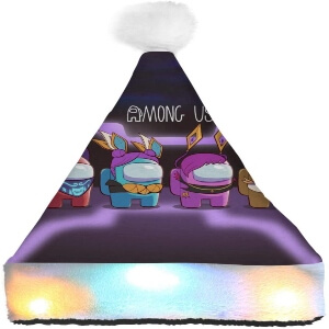 Gorro Navidad personaje 3D Among Us
