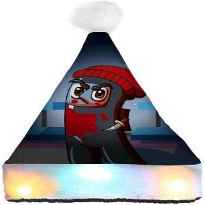 Gorro Navidad personaje realista Among Us
