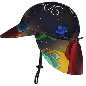 Imagenes de los sombreros de sol de Among Us