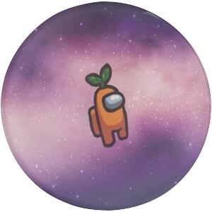 Iman personaje naranja de Among Us