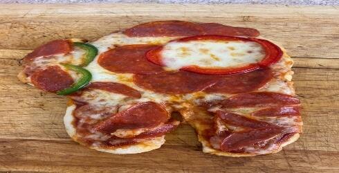 La pizza de Among Us