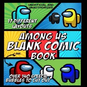 Libreta para crear comics de Among Us
