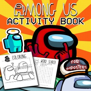 Libro actividades impostores Among Us