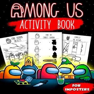 Libro de actividades impostores Among Us