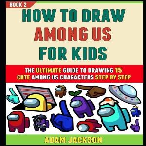 Libro dibujar personajes para niños Among Us