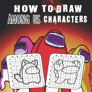 Libro para dibujar los personajes Among Us