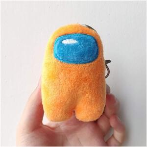 Llavero personaje naranja Among Us