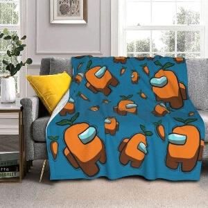 Manta personajes naranjas Among Us