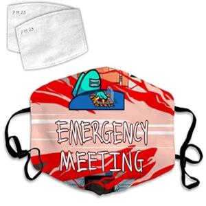 Mascarilla emergency meeting Among Us