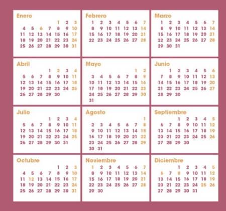 Mejores calendarios de Among Us