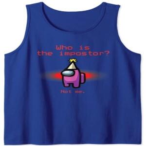 Mejores camisetas sin mangas de Among Us
