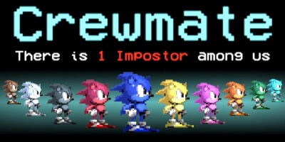 Mod de Sonic en Among Us