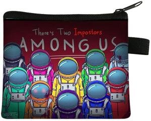 Monedero personajes realistas astronautas Among Us
