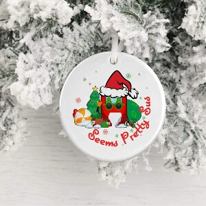 Ornamento Navidad seems pretty sus Among Us
