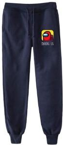 Pantalon chandal azul logotipo Among Us