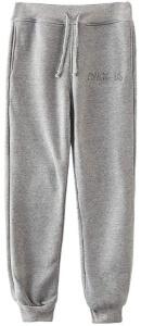 Pantalon chandal gris letras Among Us