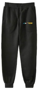 Pantalon chandal negro the crew Among Us