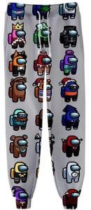 Pantalon chandal personajes con distintos atuendos Among Us