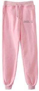 Pantalon chandal rosa letras Among Us