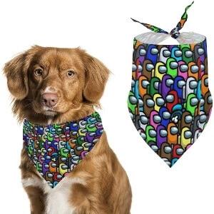 Pañuelos Among Us para mascotas
