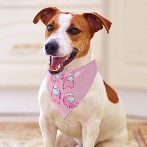 Pañuelos de Among Us para perros pequeños