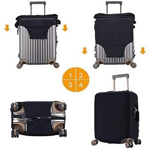 Pasos para poner las fundas para maletas de Among Us