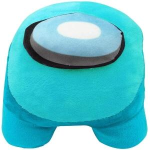 Peluche algodon personaje azul Among Us