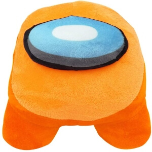 Peluche algodon personaje naranja Among Us