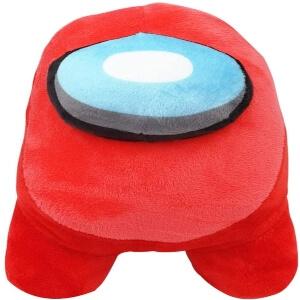 Peluche algodon personaje rojo Among Us