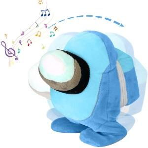 Peluche habla y baila personaje azul Among Us